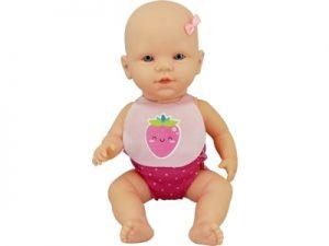 92102 Boneca Frutas Divertidas Morango S/ Cabelo