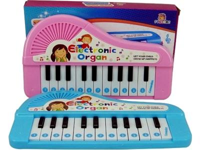 62798 Teclado Musical a Pilha 22 teclas