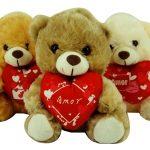 Urso Coração Amor
