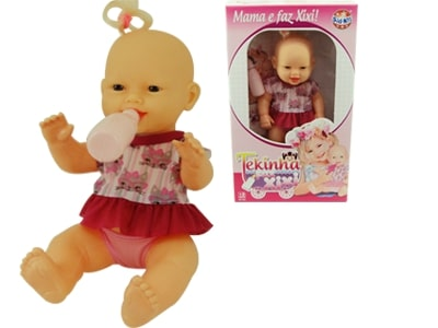 Boneca Tekinha Mama e Faz Xixi