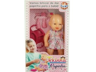Boneca Tekinha Papinha